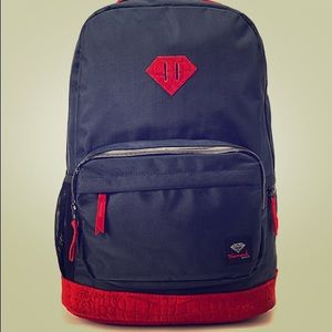 Diamond Supply Co. Diamond Navy & Red Croc BNWT!!